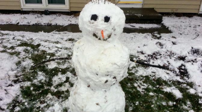 Wordless Wednesday – Snowman