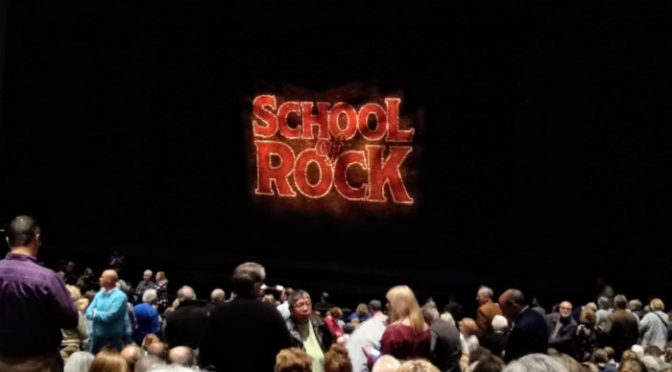 Review: School of rock the musical at Des Moines civic center